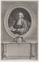 Portrait of Armand-Jérôme Bignon, 1769., 1769. Creator: Nicolas de Launay.