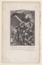 Canto 13, Stanza 38, from Orlando Furioso, 1772-74., 1772-74. Creator: Nicolas de Launay.