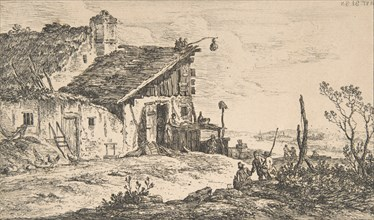 Rustic Landscape, 1772., 1772. Creator: Nicolas Perignon.