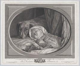 Innocence Guarded By Faithfulness, 1761-1831., 1761-1831. Creator: Nicolas Ponce.