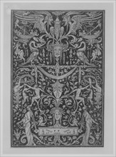 Ornament Print Panel, early 16th century., early 16th century. Creator: Peter Flotner.