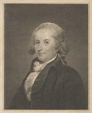 The Poet John Trumbull (1750-1831), 1820., 1820. Creator: Peter Maverick.