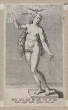 Veritas, from Prosopographia, ca. 1585-90., ca. 1585-90. Creator: Philip Galle.