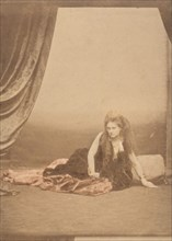[Reine d'Etrurie], 1860s., 1860s. Creator: Pierre-Louis Pierson.