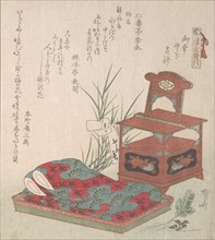 Cabinet for the Toilet and Bed-Clothes, probably 1819., probably 1819. Creator: Shinsai.