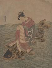 Parody of a Chinese Immortal. Creator: Suzuki Harunobu.