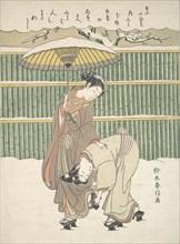 Untitled, ca. 1768., ca. 1768. Creator: Suzuki Harunobu.
