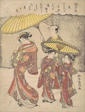 Snow, ca. 1769., ca. 1769. Creator: Suzuki Harunobu.