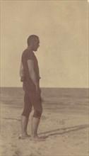 [Thomas Eakins in Swim Suit], 1880s., 1880s. Creator: Thomas Eakins.