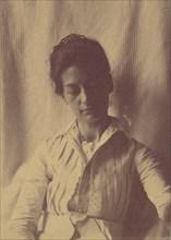 [Mrs. Eakins or Her Sister Doll], 1880s-90s., 1880s-90s. Creator: Thomas Eakins.