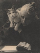 Amelia Van Buren, late 1880s., late 1880s. Creator: Thomas Eakins.