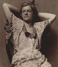 Elizabeth MacDowell Kenton, 1880s., 1880s. Creator: Thomas Eakins.