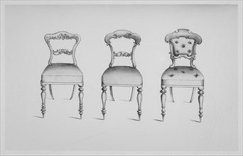 Specimens of Furniture in the Elizabethan & Louis Quatorze Styles. Adapted for Mod..., 19th century. Creator: Thomas King.