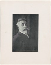 Reproduction of a photograph of Thomas Nast, after 1896., after 1896. Creator: Thomas Nast.