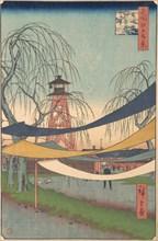Hatsune no Baba; Bakurocho, ca. 1857., ca. 1857. Creator: Ando Hiroshige.