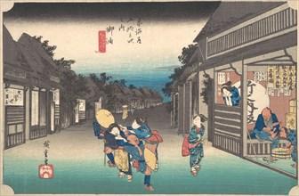 Goyu, Tabibito Ryujo, ca. 1833-34., ca. 1833-34. Creator: Jirobei.