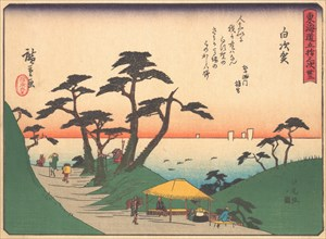 Shirasuka, from the series The Fifty-three Stations of the Tokaido Road, ear..., early 20th century. Creator: Ando Hiroshige.
