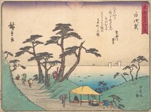 Shirasuka, ca. 1838., ca. 1838. Creator: Ando Hiroshige.