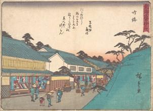 Narumi, ca. 1838., ca. 1838. Creator: Ando Hiroshige.