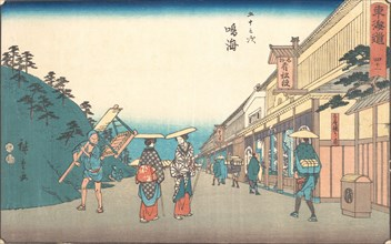 Narumi, ca. 1840., ca. 1840. Creator: Ando Hiroshige.