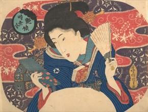 Competition of Contemporary Fashions: Sexy Beauty, 19th century., 19th century. Creator: Utagawa Kunisada.