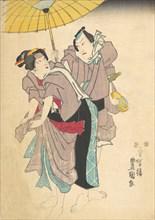 Print, 19th century., 19th century. Creator: Utagawa Kunisada.