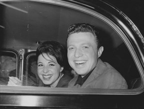 Eydie Gorme and Steve Lawrence, c1962.