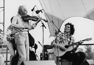 Stephane Grappelli, Capital Radio Jazz Festival, Alexandra Palace, London, 1979.
