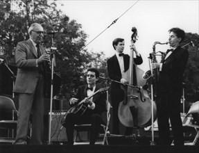 Benny Goodman, Capital Radio Jazz Festival, Knebworth, 1982.