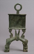 Lamp Handle with Dolphins, Byzantine, 4th-5th century.