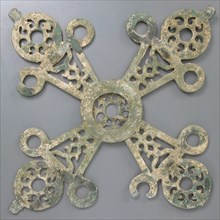 Cross-Shaped Hanging Lamp, Byzantine, 14th century.