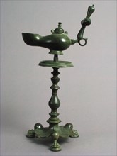 Standing Lamp with a Cross on a Pricket Stand, Byzantine, 5th century.