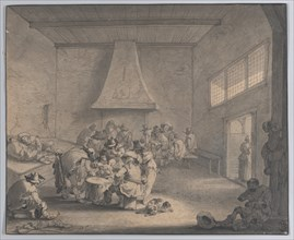 Guardroom Scene, ca.1700.