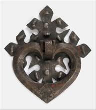 Door handle, German, late 15th century.