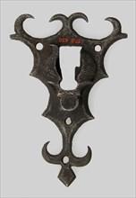 Escutcheon plate, German, 16th century.