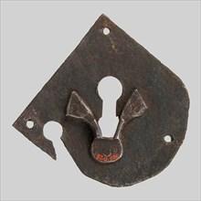 Escutcheon plate, German, 15th century.
