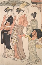 The Fifth Month, from the series Twelve Months in the Southern Pleasure District (Minami juni ko) , 1784.