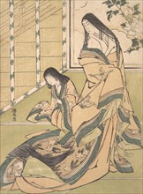 The Third Princess (Onna San no Miya), ca. 1781-89.