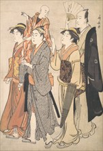 Ichikawa Danjuro V and His Family, 1782.
