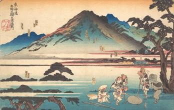 Oiso, Odawara, Hakone, Mishima, Numazu, 1840.