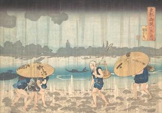 Onmayagashi in Edo, 1830-44.