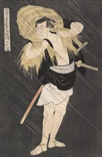 The Actor Otani Tomoemon in the Role of Ono Sadakuro, from the series Image of Actors on Stage, ca. 1795.