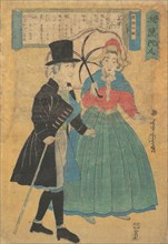 A Dutch Couple, 1863 (Bunkyu 3).