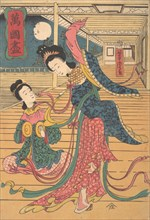 Two Chinese Women, 12th month, 1860.