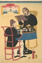 Englishmen Dining, 1st month, 1861.