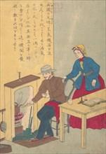 Lives of Great People of the Occident (Taisei ijin den): James Watt (1736-1819), ca. 1870.
