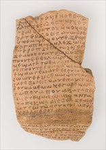 Ostrakon with a Letter from Joseph to - , Coptic, 580-640.