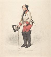 Costume design, 18th-19th century.