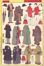Paper Doll Clothing, 1897-98.