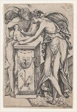 Apollo and the Spirit of Sculpture, 1607-61.